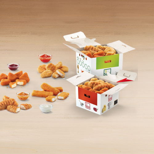 McDonald´s Mix-n-share